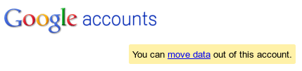 move google accounts