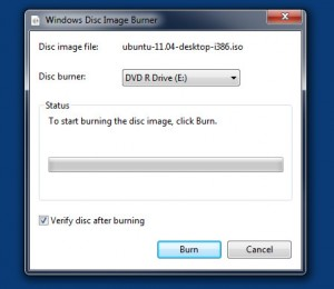 windows disc burner